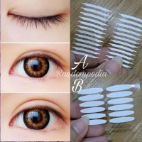 Invisible Double Side Eyelid Tape 120 pcs/Skot Mata/Stiker/Scott
