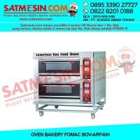 Fomac Mesin Oven Roti Gas 2 Deck (BOV-ARF40H) - Silver
