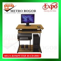 MEJA KOMPUTER EXPO M CD 8001 MURAH