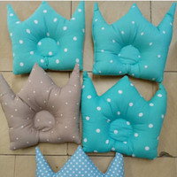 Bantal Bayi Crown Anti Peyang Sutra Kingkoil Bumbee Custom Motif