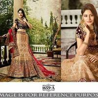 Designer 1a Bridal Lehenga/Gaun Pengantin Import India/Wedding Dress