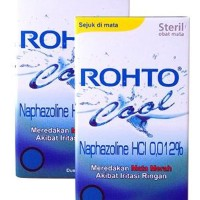 ROHTO COOL EYE DROP 7 ML 2 BOTOL Limited