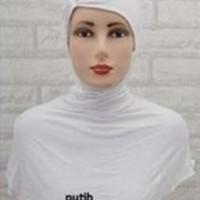 Jual Ciput Ninja Antem Kerut | Inner Dalaman Hijab Risty 3 Kancing Murah