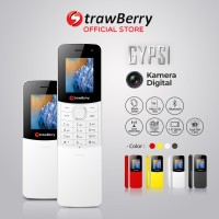 Strawberry – Gypsi | Handphone Slider HP Murah Kamera Bluetooth