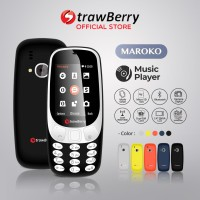Strawberry – Maroko 3310 | Handphone Candybar HP Murah Kamera Senter