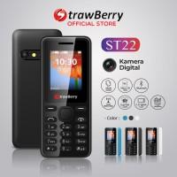 Strawberry ST22 | Handphone Candybar HP Murah Kamera Bluetooth 16GB