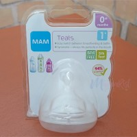 MAM Replacement Silicone Teat / Nipple / Dot Bayi Ukuran 1