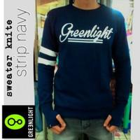 Jaket Distro Murah Sweater Greenlight Finger Navy