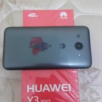Huawei Y3 2017 warna hitam pembelian 30 Desember 2017