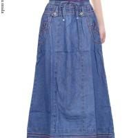 Jual Rok Jeans Anak Bordir Bunga Murah