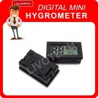 Digital Mini Hygrometer / Higrometer Kecil Alat Ukur Suhu & Kelembaban