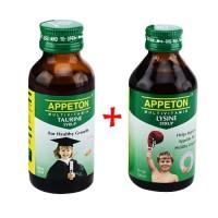 Appeton Lysine Syrup 60 ml + Appeton Taurine Syrup 60 ml TERLARIS