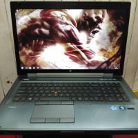 HP Workstation 8760w Core i7 8Cpu VGA AMD Firepro M5950 17inch Mantap
