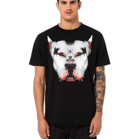 [SALE] MARCELO BURLON DOGGO BLACK TSHIRT SS18 ORIGINAL