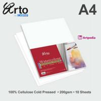 Arto Water Colour Paper 200gsm - Cellulose