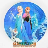 paper plate frozen/ piring kertas karakter frozen / piring ulang tahun