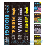 Paket HEMAT 4 in 1 THE KING MASTER FISIKA, BIOLOGI, KIMIA, MATEMA