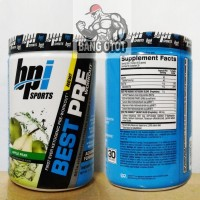 bpi Best Pre Workout PWO NEW 30 Servings 30Serv Power Energy Stamina