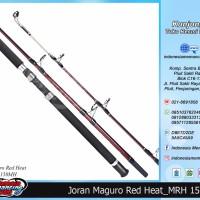 Rod Joran Pancing Laut MAGURO RED HEAT Panjang 150MH