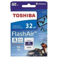 SD Card WiFi Toshiba Flash Air W-04 32 GB Ori Original Wireless Camera