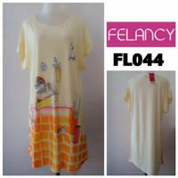 Size L baju tidur daster murah branded felancy piyama lingerie