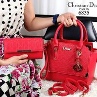 Hand bag Christian dior set dompet harga PROMO. Barang ini di jual oleh Tas  Wanita ... 443010efd4