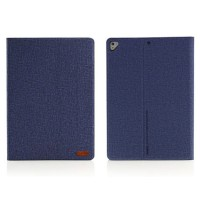 Promo Remax Pure Series Flip Case for iPad 2017 - Blue Simple Cover