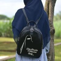 Backpack Tas Wanita Muslim - Ransel Muslimah Islami Murah AFA8172