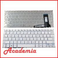 Keyboard Laptop Asus E202 E202S E205 E202MA TP201SA Putih
