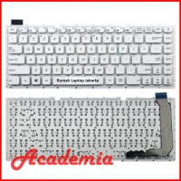 Keyboard Asus X441SC X441U X441SA X441S X441 A441 A441U X441UA Putih
