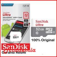 SANDISK MICROSD 32GB 48MB/S TANPA ADAPTER / MICRO SD 32GB MBPS