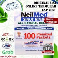Neilmed Sinus Rinse packs premix 100 pc ( cuci hidung sinusitis )