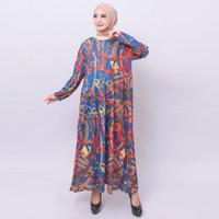 JUAL PROMO GAMIS MURAH! Baju Gamis Wanita Jumbo 4L Kaos Import 9373