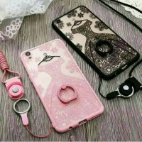 Casing HP Oppo F1S F1 S F1Plus Plus Wedding Lace Soft Soft Iring Terb