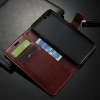 Casing HP Flip OPPO F3 OPPOF3 OPPOA77 A77 Wallet Leather Case Terbaru
