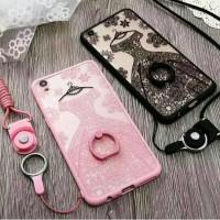 Casing HP Oppo F1plus F1 Plus F1S F1 S Wedding Lace Soft Soft Iring T