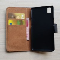Casing HP Flip screenguard Oppo A37 neo 9 wallet leather Terbaru