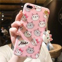 New Casing HP Vivo Y55 Y55s Biasa Soft3D Cat Kucing Hello Kitty Aloha