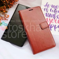 New Casing HP Wallet Vivo V7 Leather Flip