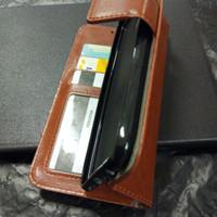 New Casing HP Vivo V7 Vivo 1718 Flip Wallet Leather Tpu Holder Stand