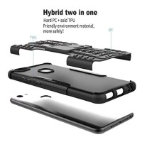 New Casing HP Free Anti Gores Rugged Armor Stand Vivo V7 Plus