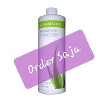 Herbal aloe concentrate#herbalife#rasa original