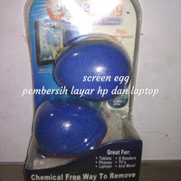 Screen egg Telur pembersih layar ,hp ,ipad ,iphone, samsung ,laptop