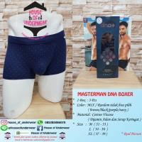 Harga celana dalam pria masterman boxer dna isi | antitipu.com