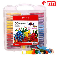 TITI Oil Pastels 55 Warna / Crayon Oil Pastels Set 55