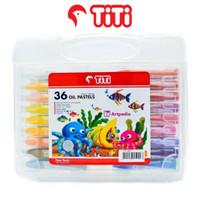 TITI Oil Pastels 36 Warna / Crayon Oil Pastels Set 36