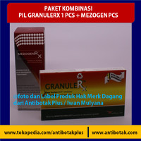 Paket Tonik MezogenRX dan Pil GranuleRX