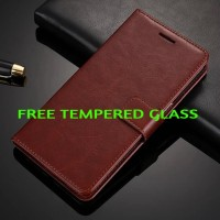 Leather Kulit FLIP COVER WALLET Oppo F1 A35/ A37 NEO 9Case Casing HP
