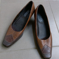 Sepatu Kulit Wanita Higheels Pantofel Kerja Pesta Not Buccheri Geox