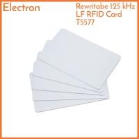 T5577 Card RFID 125 kHz Rewritable Writable Duplicate Clone Copy Kartu